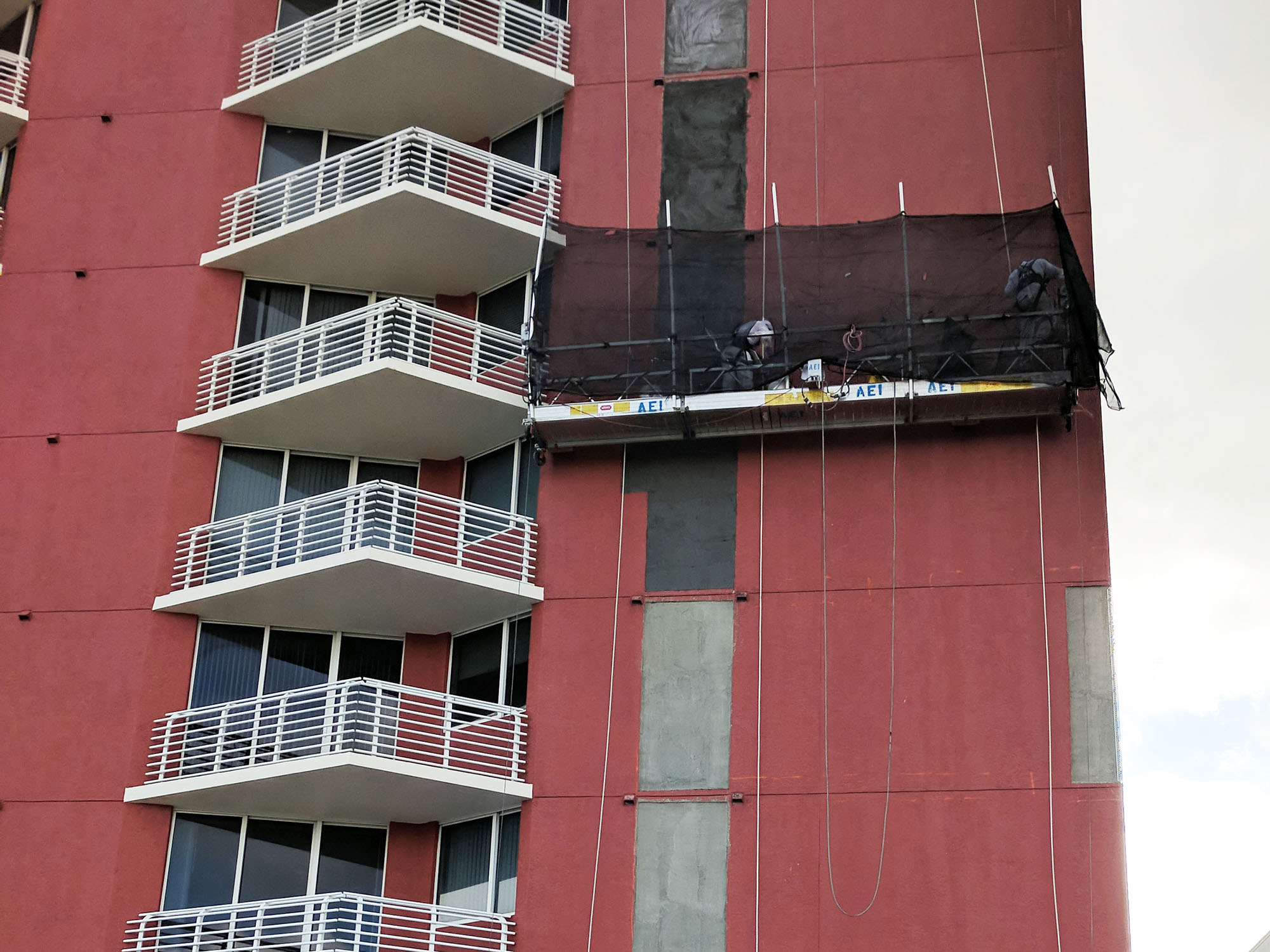 Building Restoration - Water Intrusion Restoration - United Professional Engineering - Slade Condominums_2